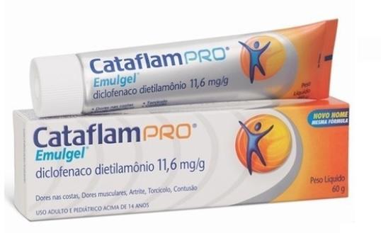 CATAFLAMPRO EMULGEL  TRIPLA ACAO 60GR