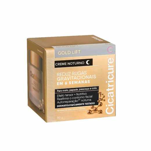CICATRICURE CR NOTURNO GOLD LIFT 50G