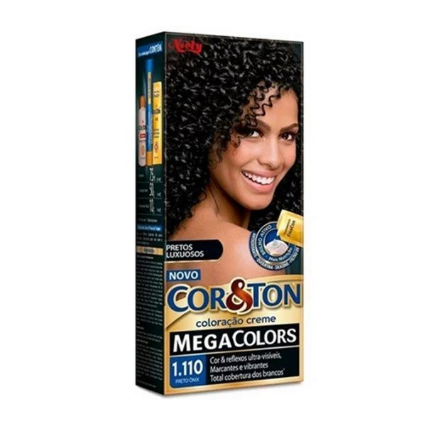 Cor&Ton Tint 1.110 Preto Onix