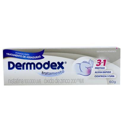 DERMODEX TRATAMENTO 60 GRAMAS