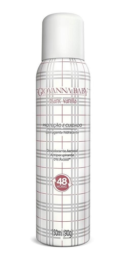 Giovanna Baby Desodorante Aero Blanc Vanilla