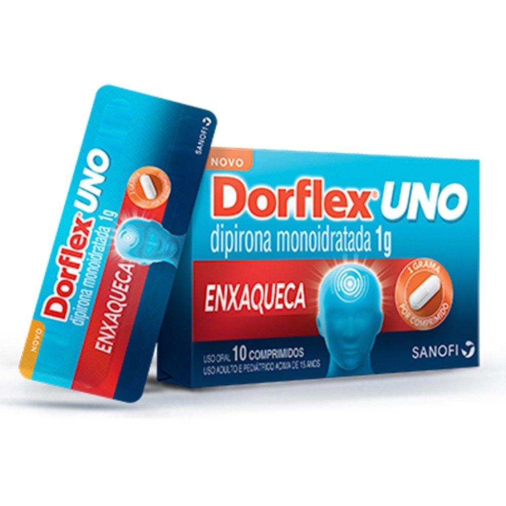 Dorflex Uno 1gr Com 10 Cápsulas