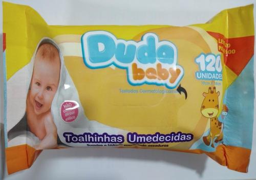 Duda Baby Toalhas Umedecidas 120 Unidades