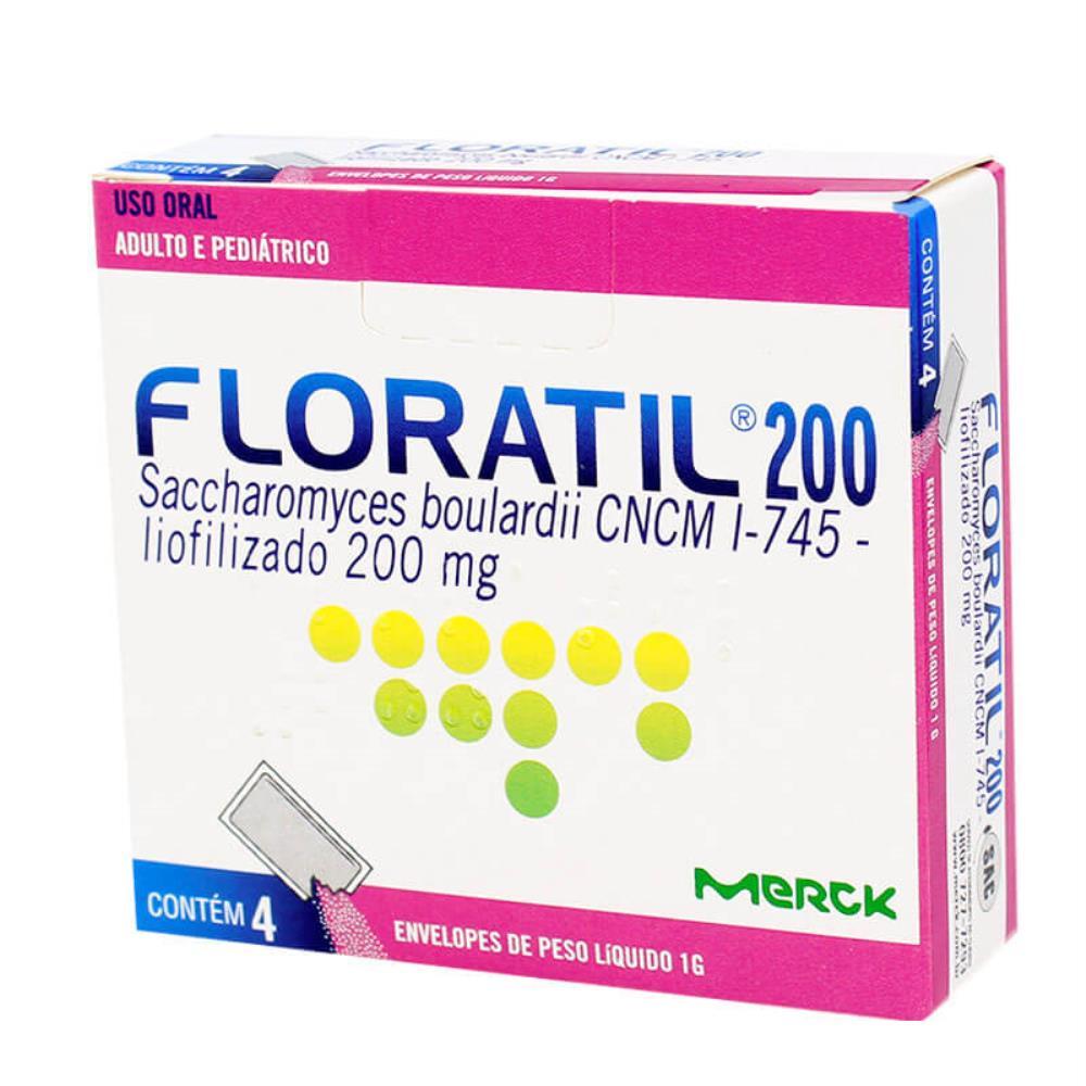Floratil 200mg  4 Envelopes