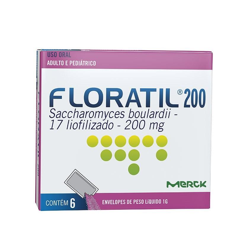 FLORATIL 200MG 6 ENVELOPES