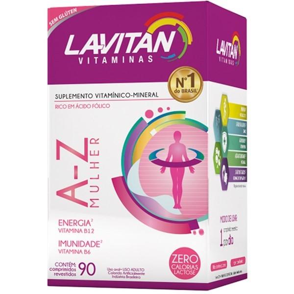 Lavitan A-Z Mulher 90 Comprimidos