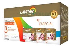 Lavitan Hair Kit Leve 3 Pague 2  90 Cápsulas
