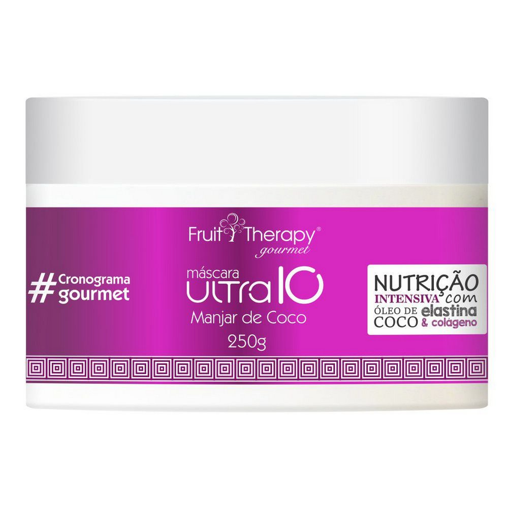LEFT MASC FRUIT THERAPY GOURMET MANJAR COCO 250GR