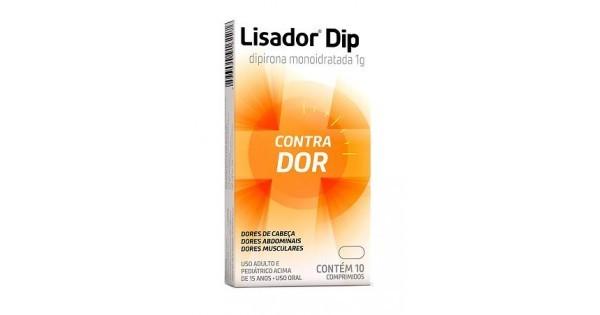 LISADOR DIP 1G C/10 COMPRIMIDOS