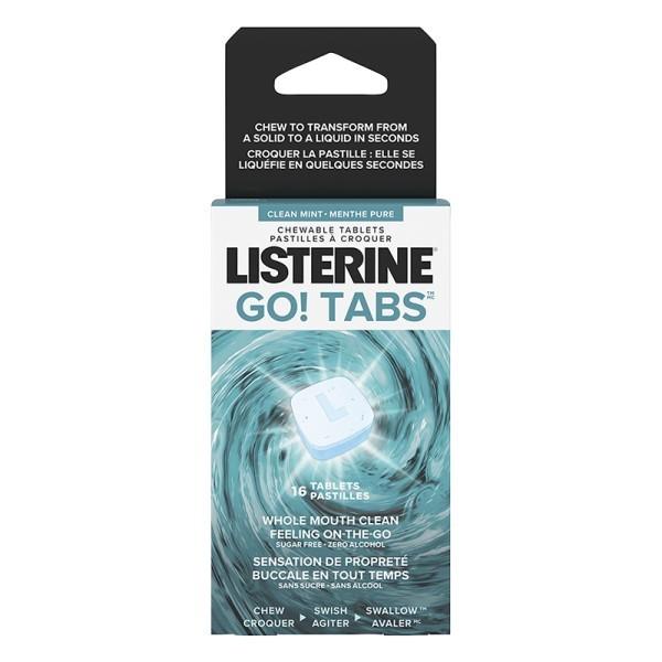 Listerine Go 8 Tabs