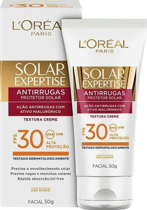 L'Oréal Solar Expertise Antirrugas FPS 30