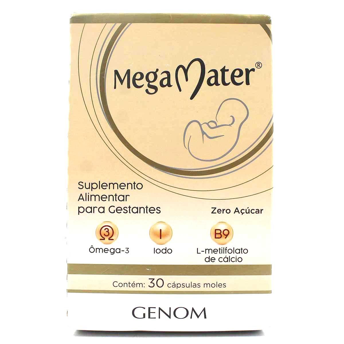 Mega Mater 30 Comprimidos Gel