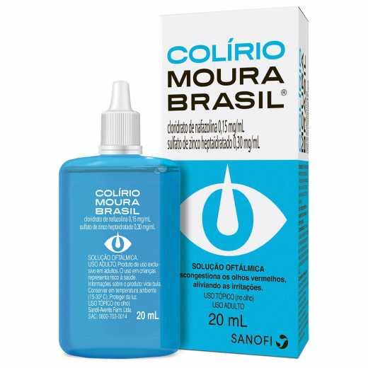 Moura Brasil Colirio 20ml
