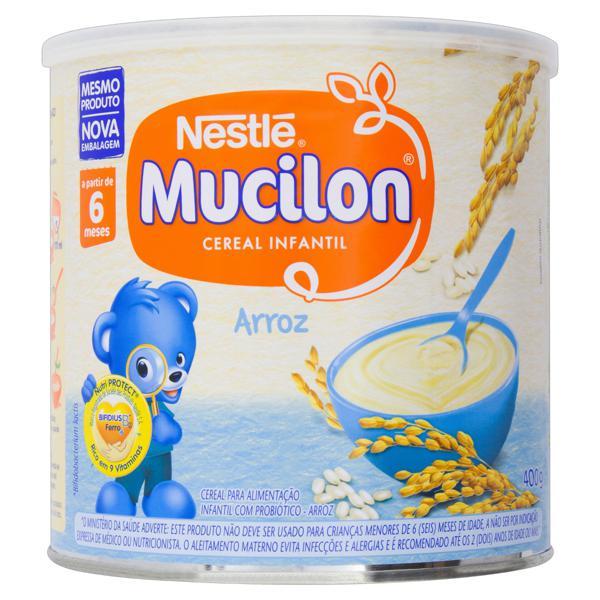 MUCILON CEREAL INFANTIL ARROZ 400GR