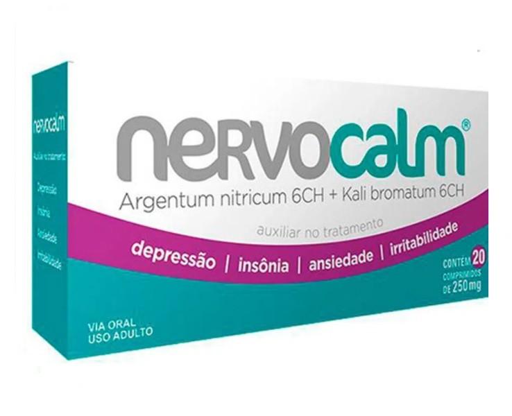 Nervocalm Wp Lab 20 Comprimidos