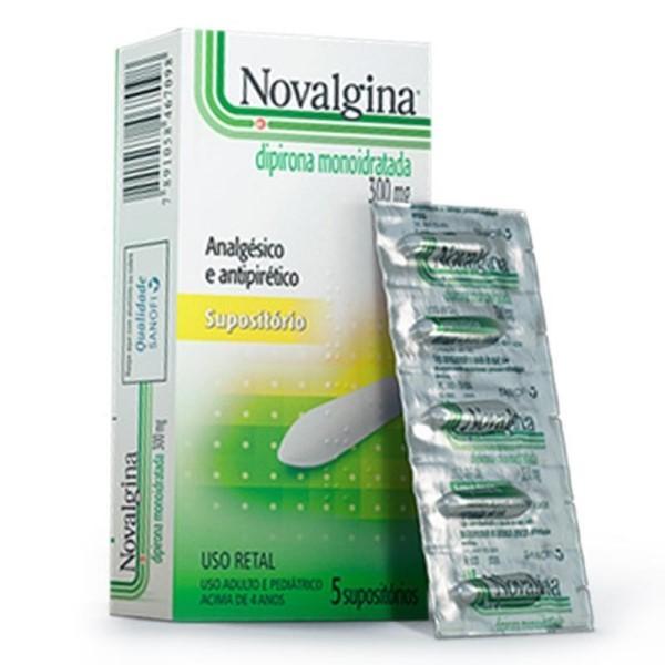 Novalgina Supositorio Infantil 5Un