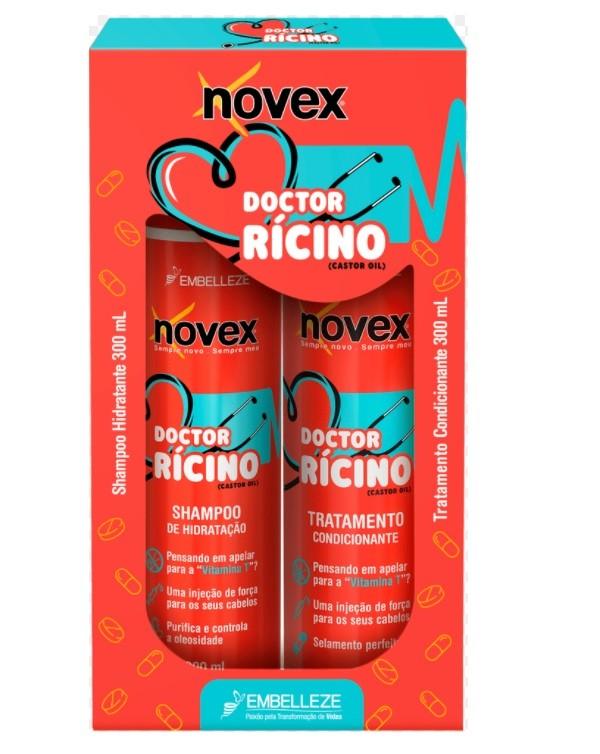 NOVEX DOCTOR RICINO SHAMPOO+ CONDICIONADOR