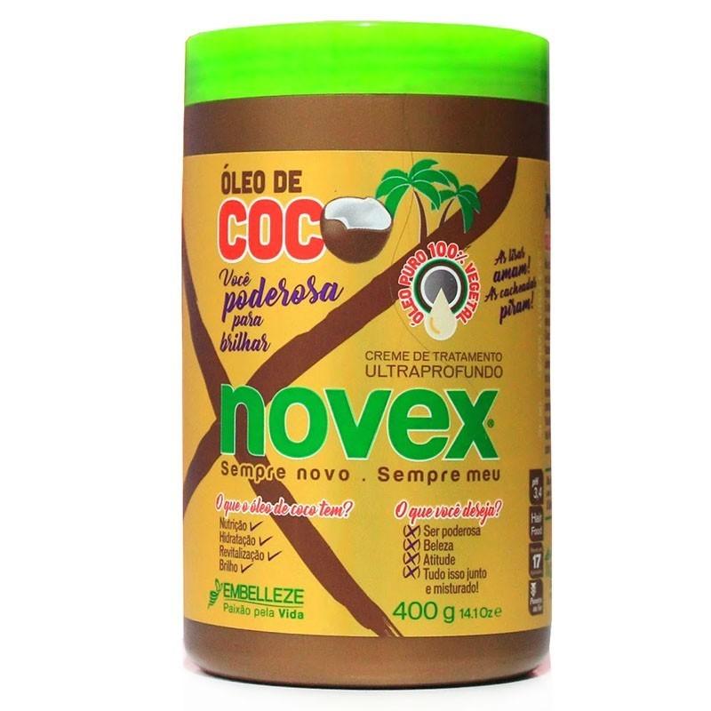 NOVEX OLEO DE COCO 400G