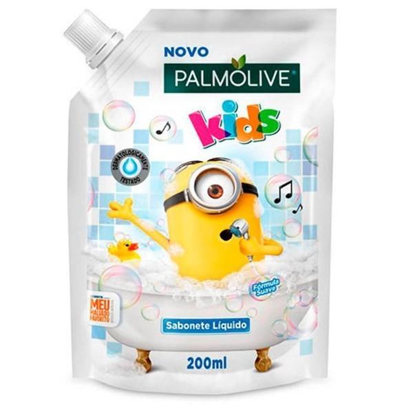 PALMOLIVE SABONETE LIQUIDO MINION REFIL 200ML
