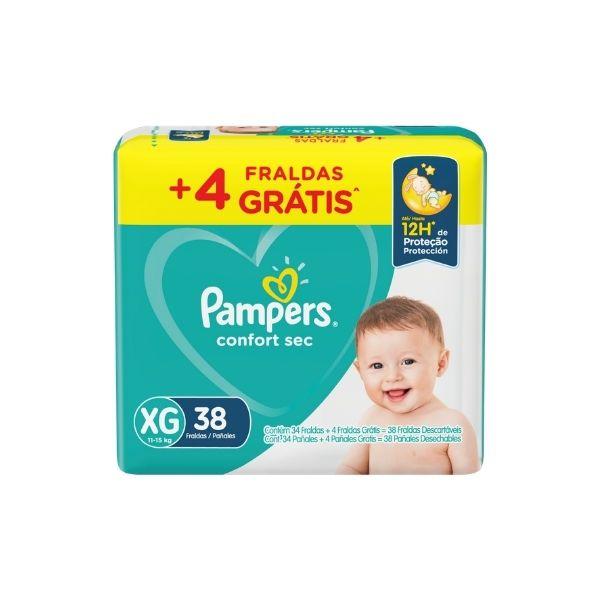 PAMPERS CONFORT SEC MEGA EG 38UN