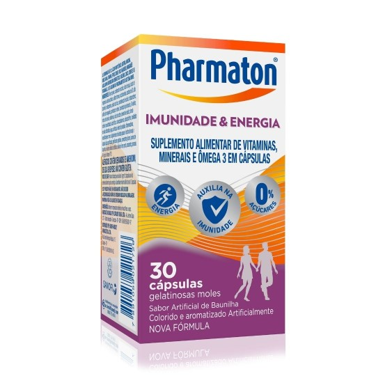 Pharmaton Imunidade E Energia 30 Comprimidos