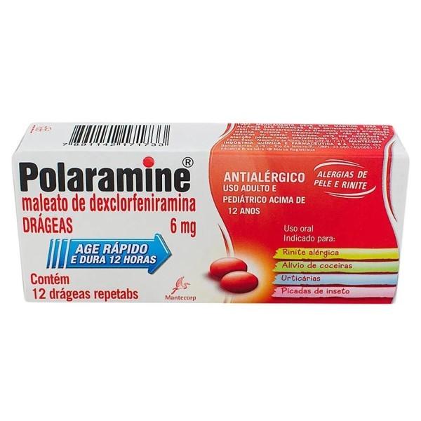 Polaramine 6mg Repetabs 12 Comprimidos