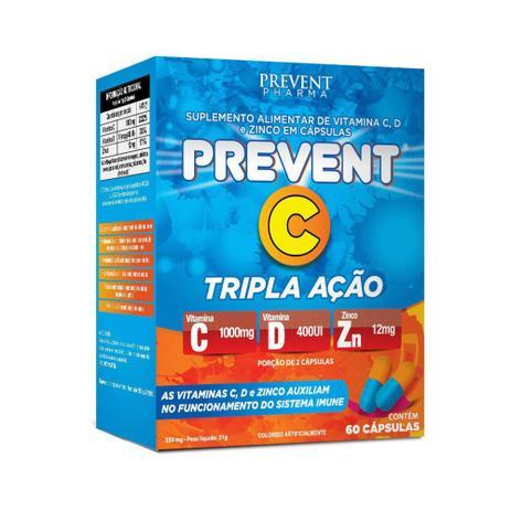 PREVENT C TRIPLA AÇÃO C/60 CÁPSULAS