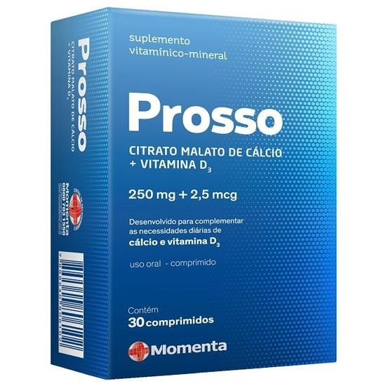 PROSSO 250MG + 2,5MCG  30CP (GANHE +30 CP)