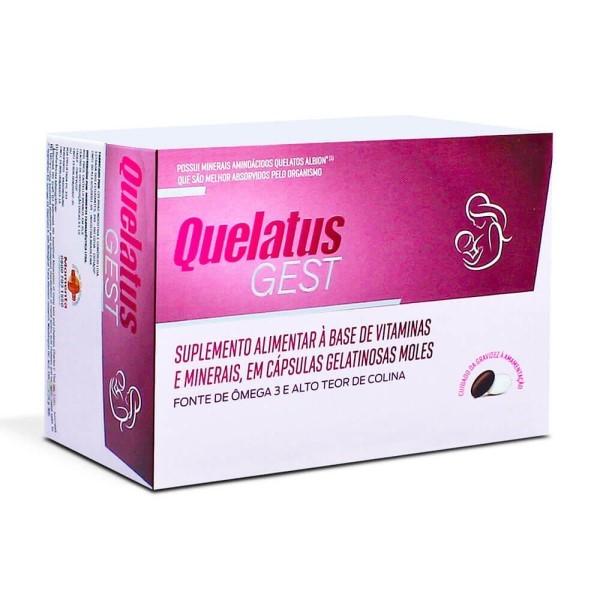 QUELATUS GEST 60CAPS (GANHE +32 CAPS)
