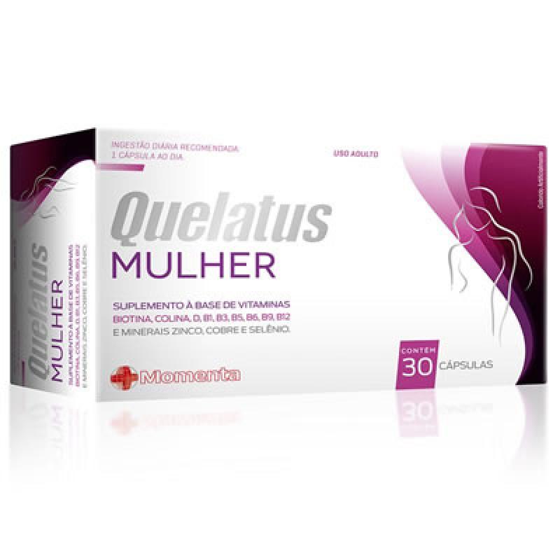 Quelatus Mulher 30 Comprimidos