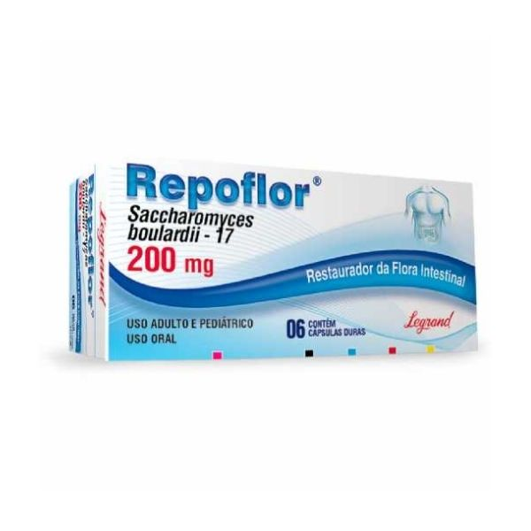 Repoflor 200mg 6 Comprimidos