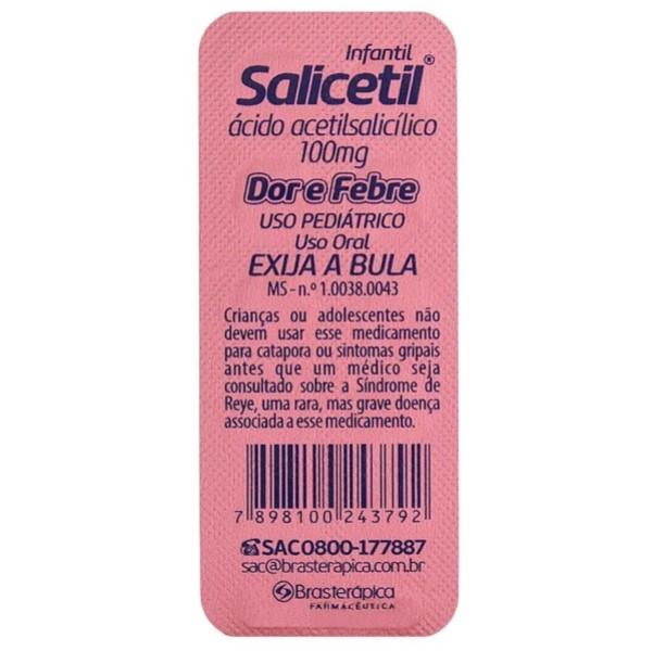 SALICETIL 100MG CX 500CP