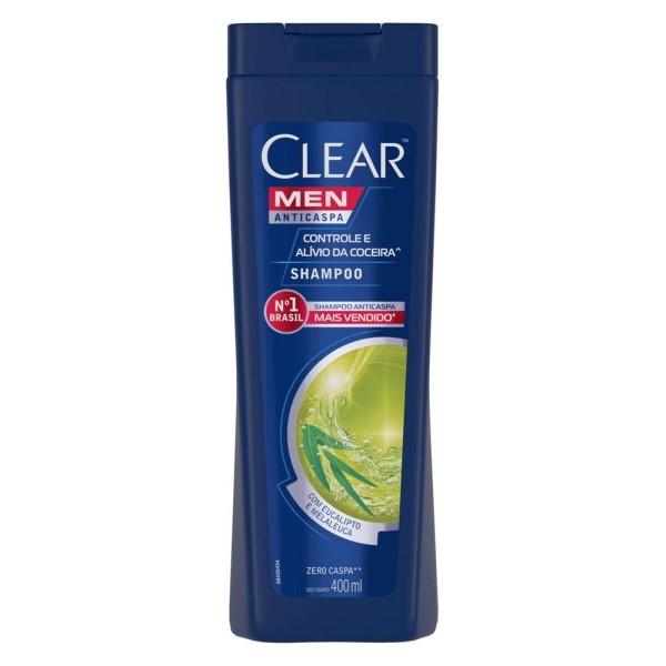 Shampoo Clear Men Alívio Coceira 400ml