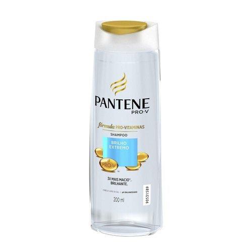 Shampoo Pantene PRO-V Brilho Extremo 200ml