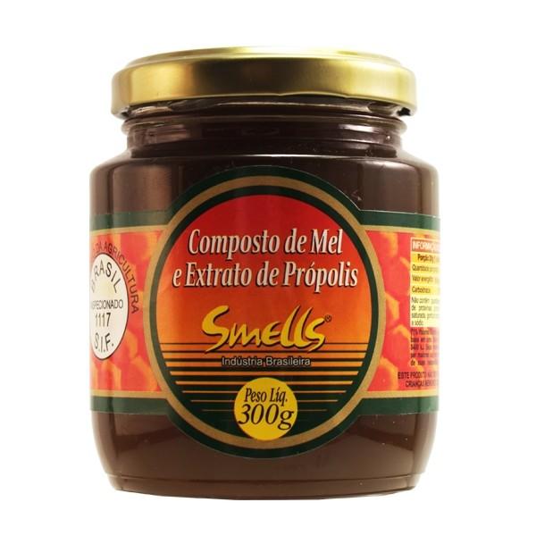 SMELLS COMPOSTO MEL E EXTRATO DE PROPOLIS 300G