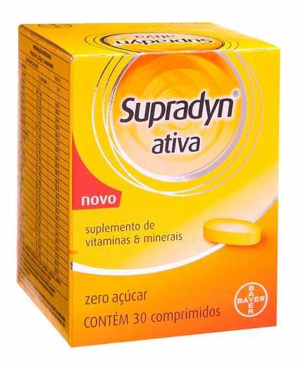 SUPRADYN ATIVA 30CP