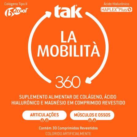 TAK 360 LA MOBILITA 30 COMPRIMIDOS