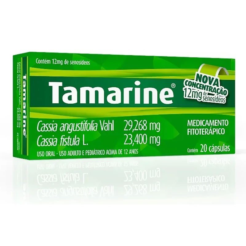 Tamarine 12mg 20 Comprimidos