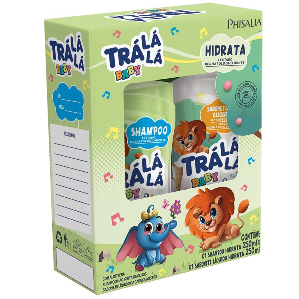 TRALALA SH SAB LIQ 250/250ML HIDRATA
