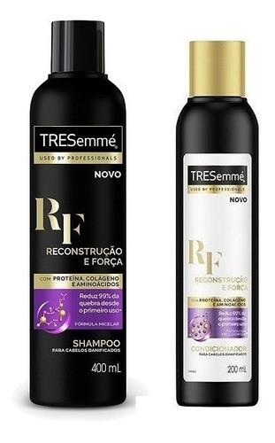 Tresemmé Reconstrução E Forca Kit Shampoo400ml+Condicionador200ml