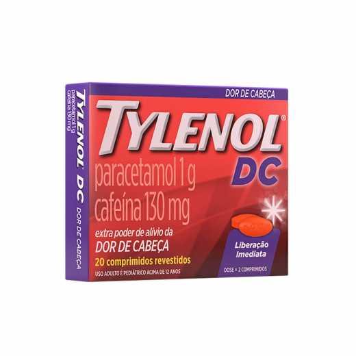 TYLENOL DC 20COMPRIMIDOS