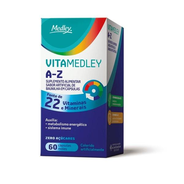 Vitamedley A-Z 60 Cápsulas