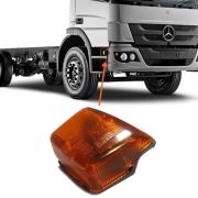 Lanterna Lateral Estribo Seta Pisca Para Caminhão Mercedes Benz Atego Lado Direito