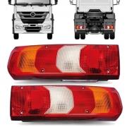Par Lanterna Traseira Caminhão Mercedes Benz Actros Accelo Atego Axor
