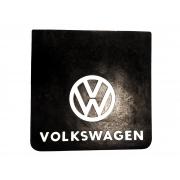 Parabarro traseiro 50 x 50 cm Logo Marca Volkswagen em alto relevo
