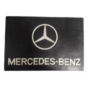 Parabarro Traseiro Caminhão Mercedes Benz 66 X 45 Cm Lameiro