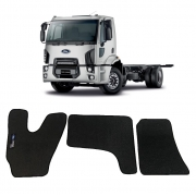 Tapete Caminhão Ford Cargo 1723 Cabine Moderna Borracha PVC