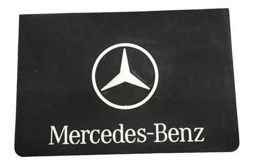 2 Parabarro Borracha Caminhão Mercedes Benz 60x30cm lameiro
