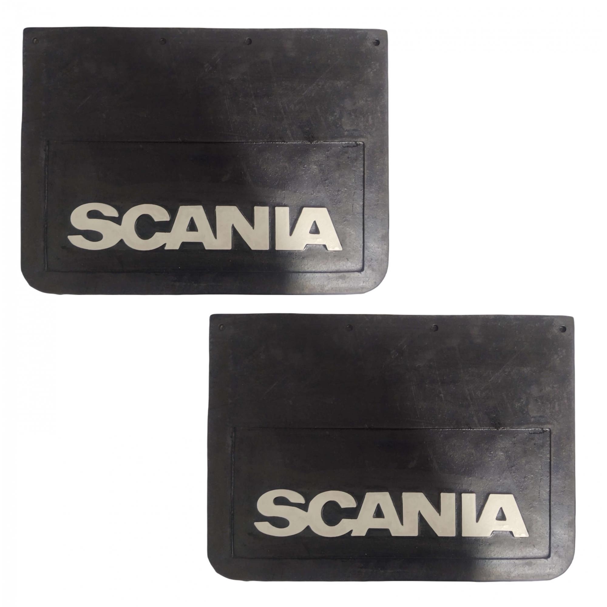 2 Parabarro Dianteiro Scania 112 113 Lameiro 50 X 36 Cm