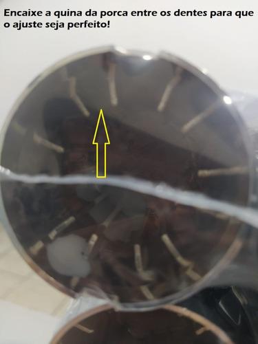 Capa Tampa Parafuso Porca Roda Cromada Jetta de 32 ou 33 mm